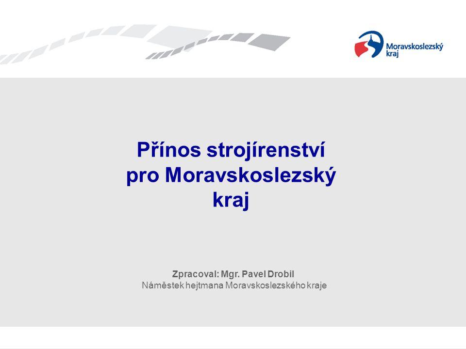 Přínos strojírenství pro Moravskoslezský kraj
