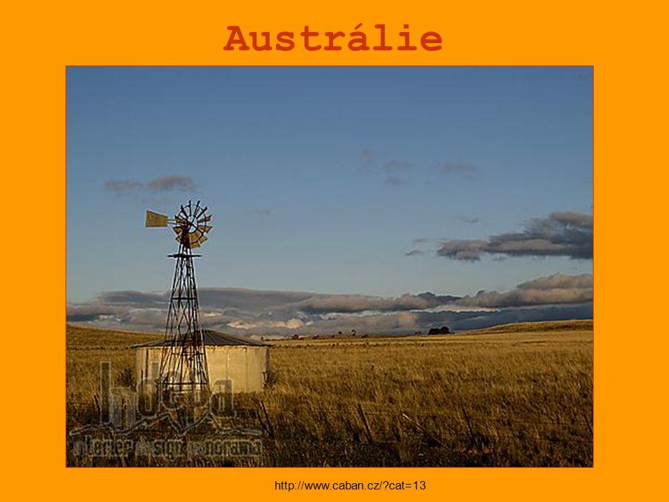 Austrálie http://www.caban.cz/ cat=13