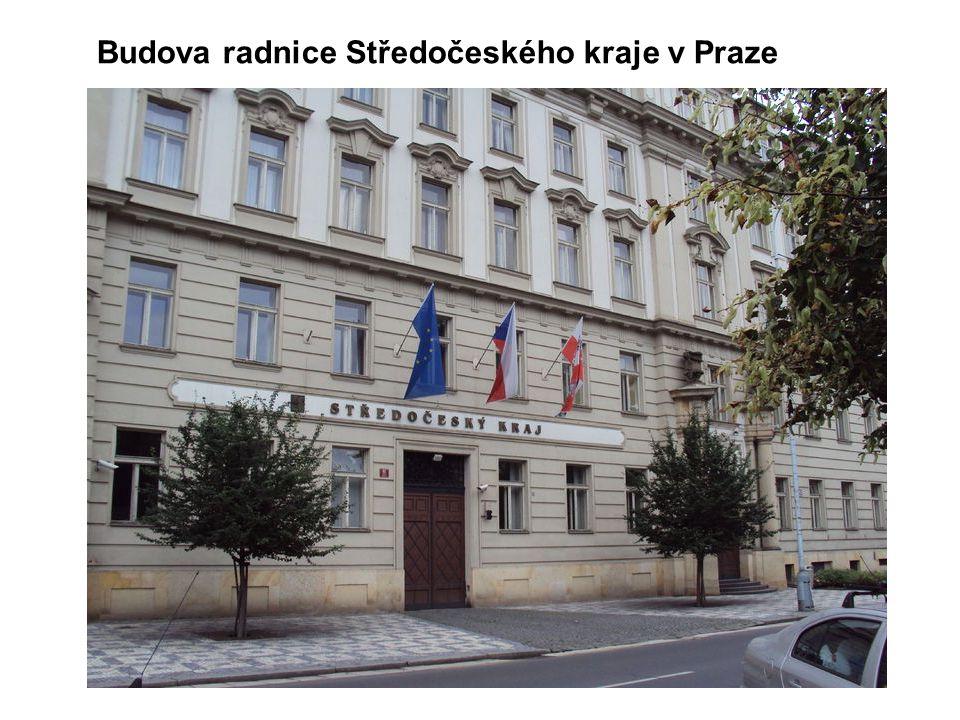 Budova radnice Středočeského kraje v Praze