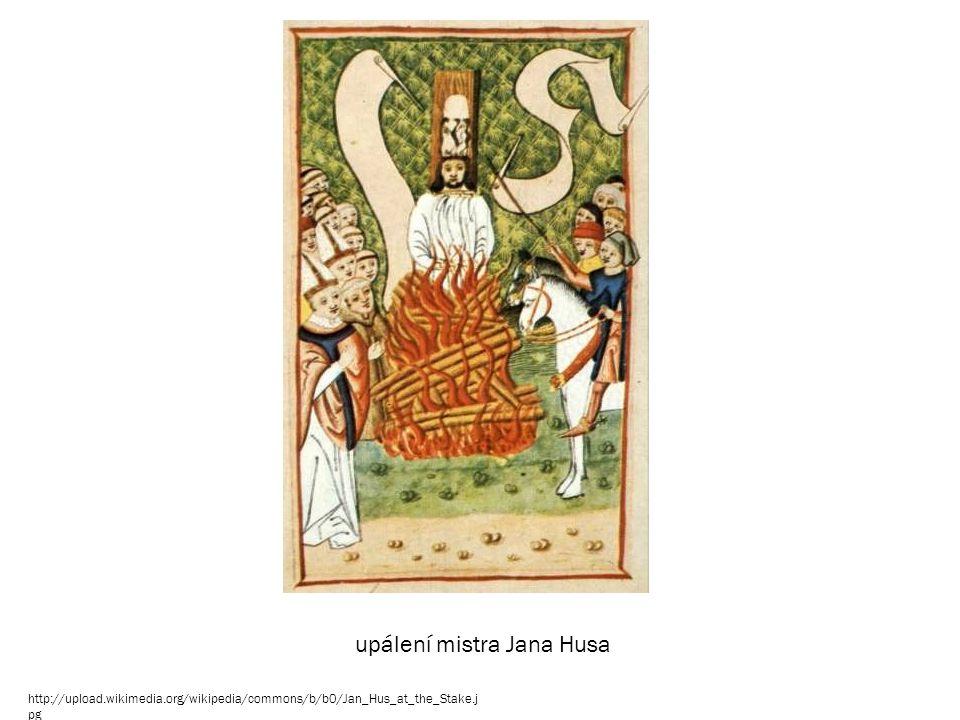 upálení mistra Jana Husa