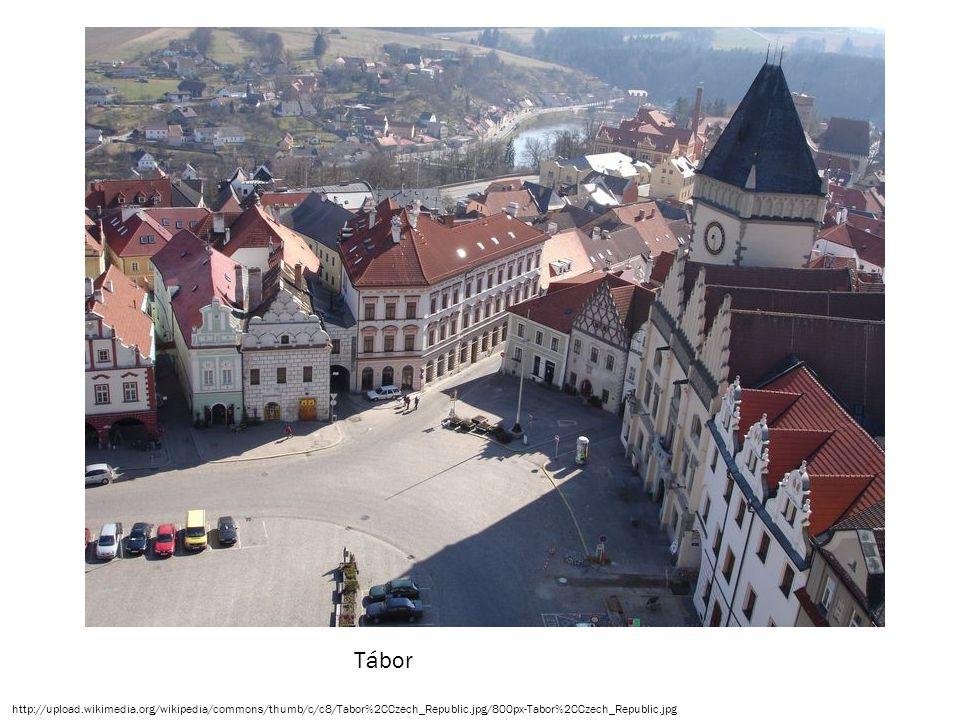 Tábor http://upload.wikimedia.org/wikipedia/commons/thumb/c/c8/Tabor%2CCzech_Republic.jpg/800px-Tabor%2CCzech_Republic.jpg.