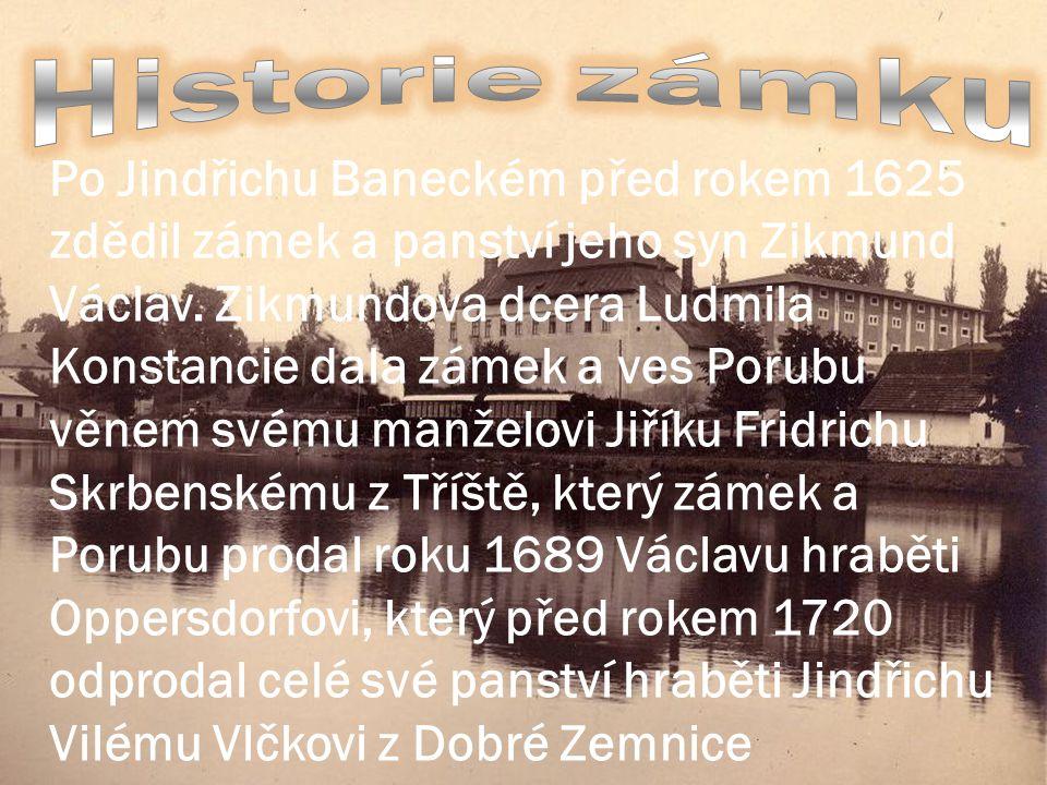 Historie zámku
