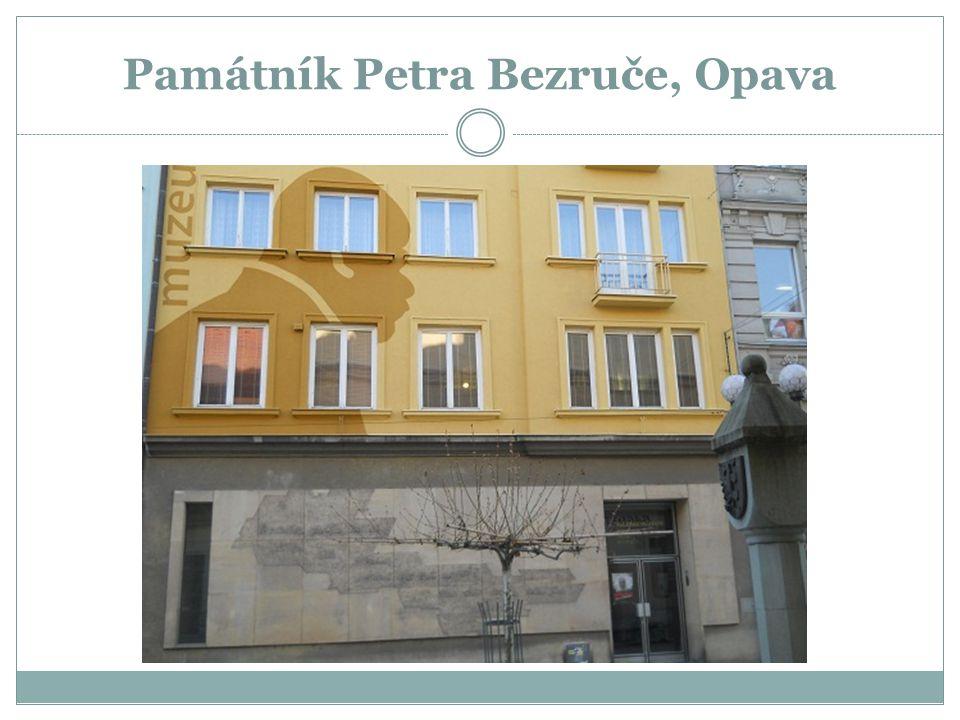 Památník Petra Bezruče, Opava
