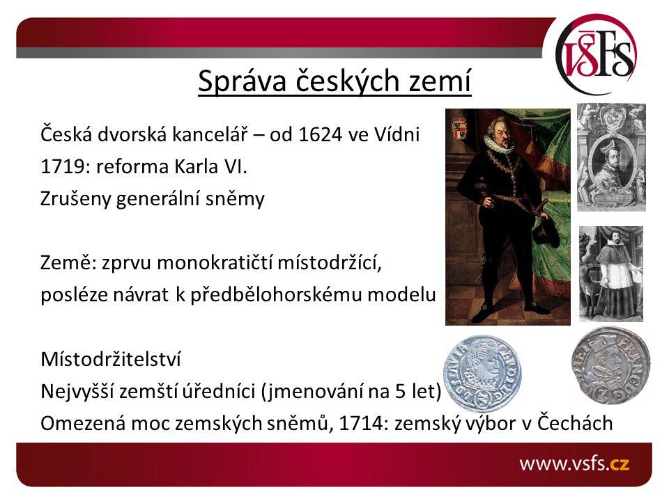 Správa českých zemí