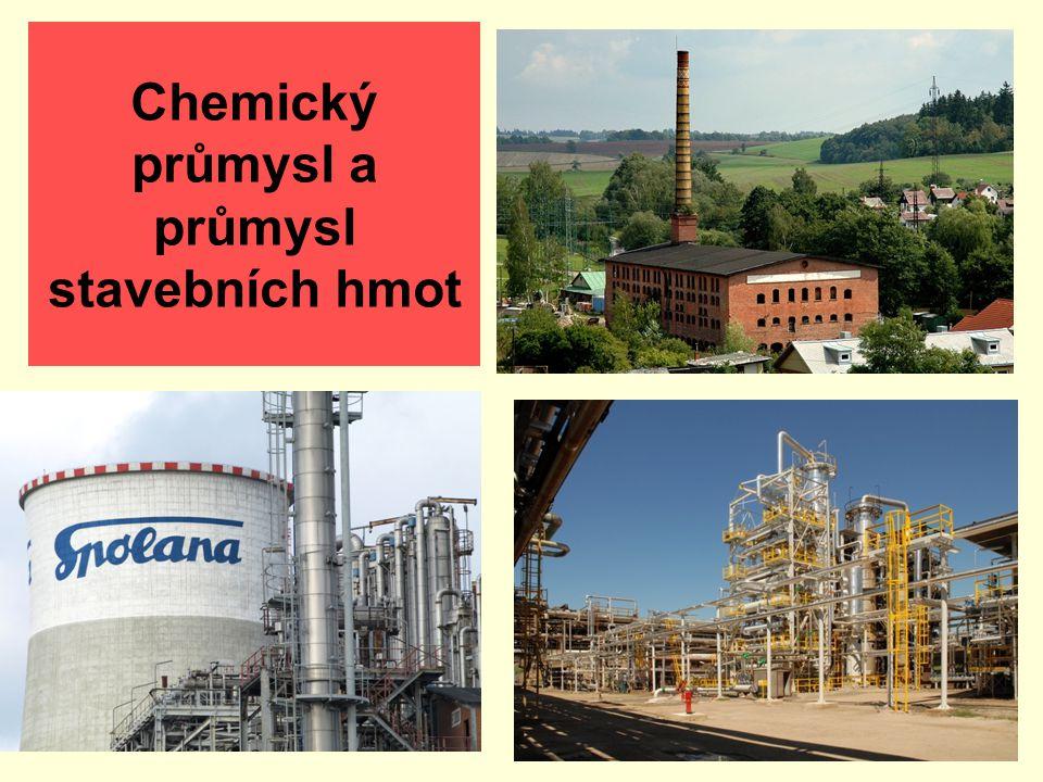 Chemický průmysl a průmysl stavebních hmot