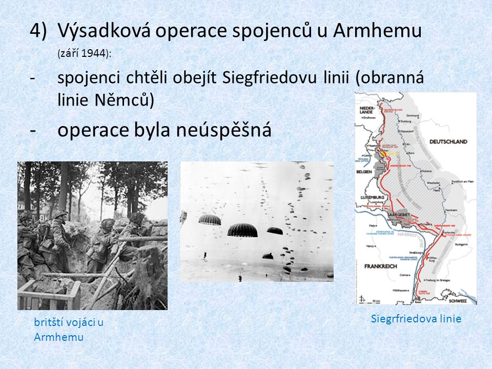 Výsadková operace spojenců u Armhemu
