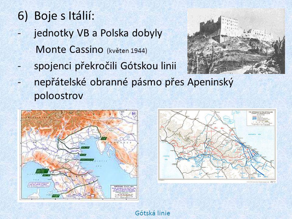 Boje s Itálií: jednotky VB a Polska dobyly Monte Cassino (květen 1944)