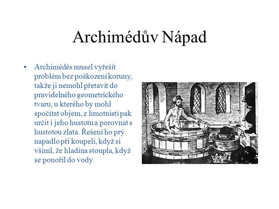 Archimédův Nápad