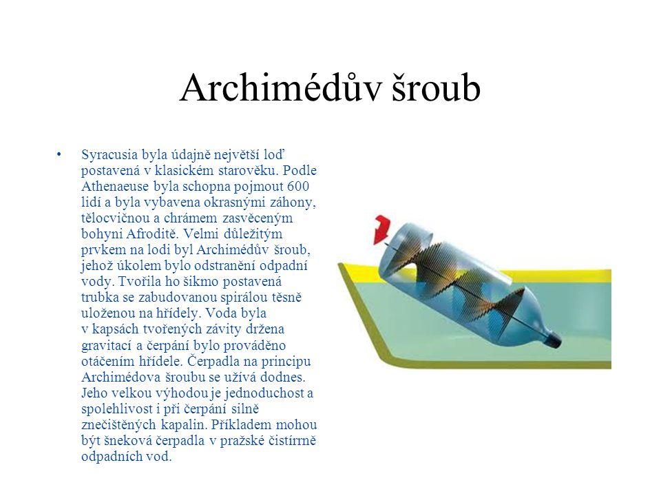 Archimédův šroub