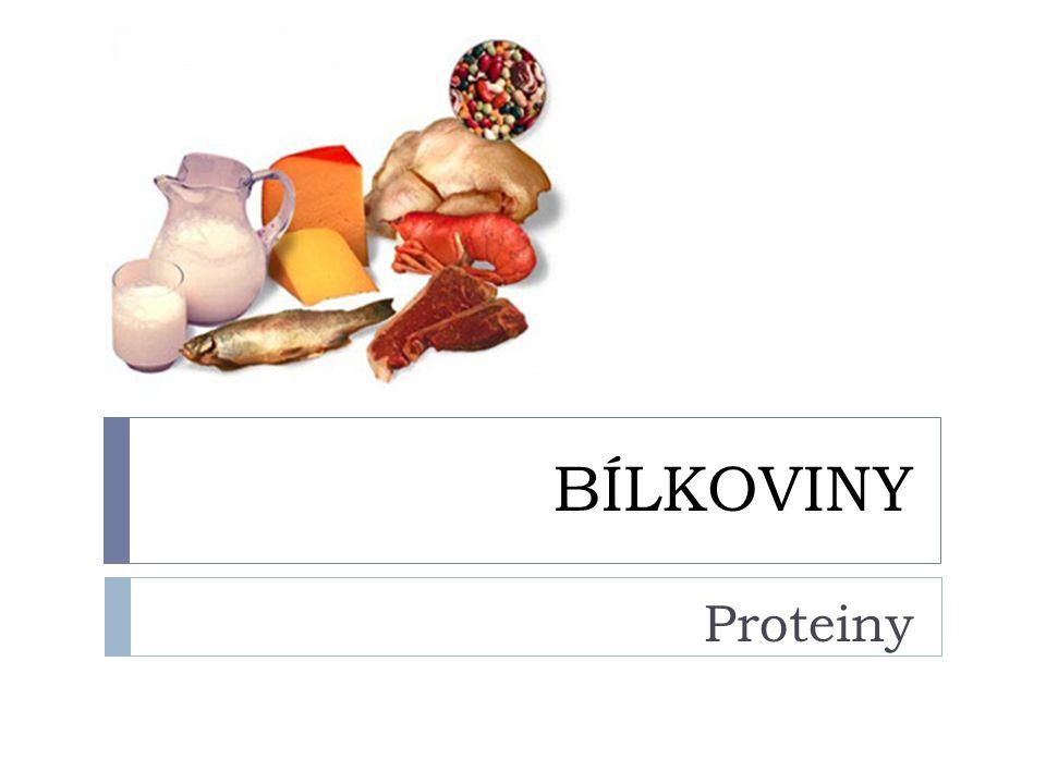 BÍLKOVINY http://www.moje-fitness.cz/images/76.jpg Proteiny