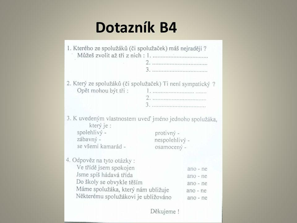 Dotazník B4