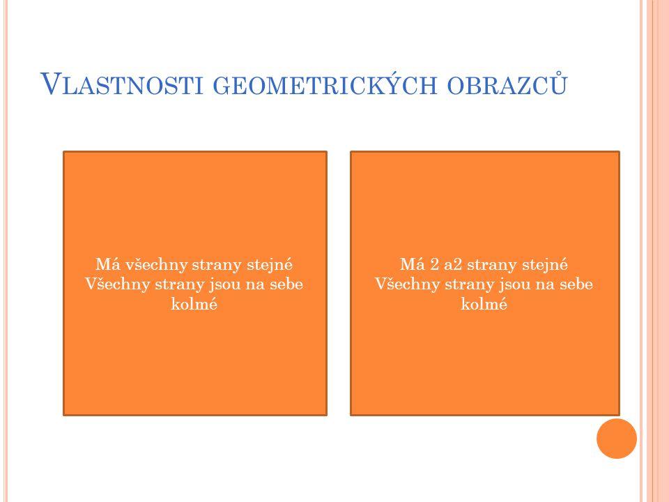 Vlastnosti geometrických obrazců