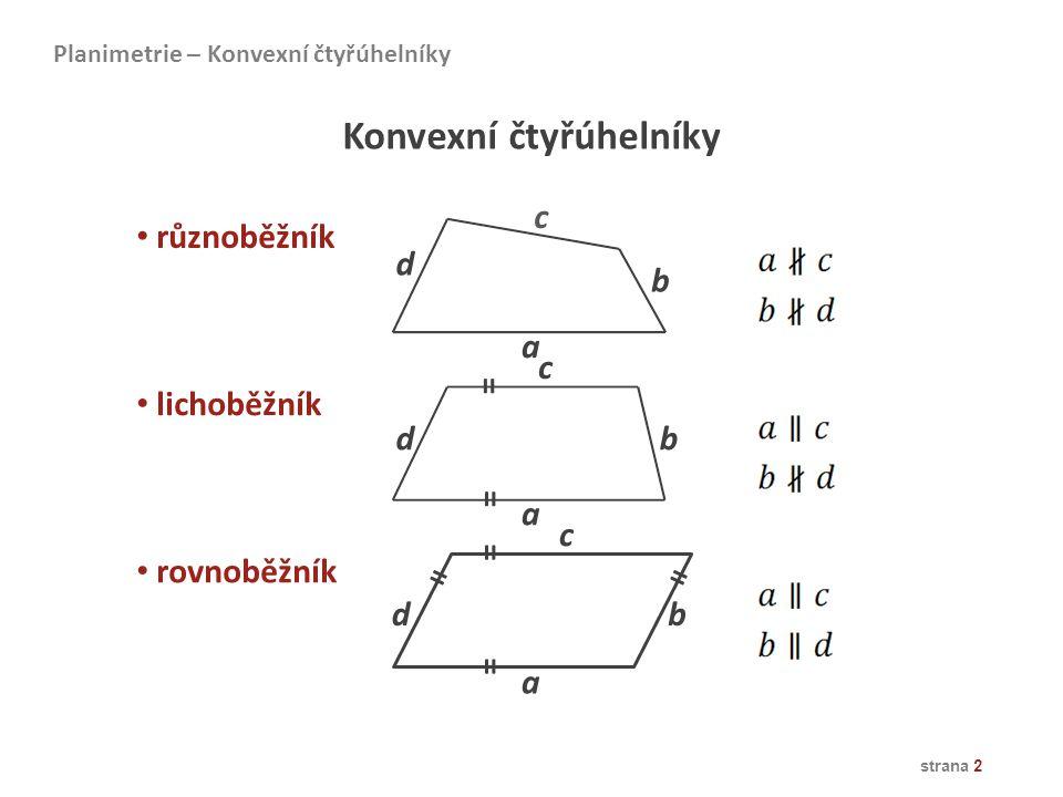 Konvexní čtyřúhelníky