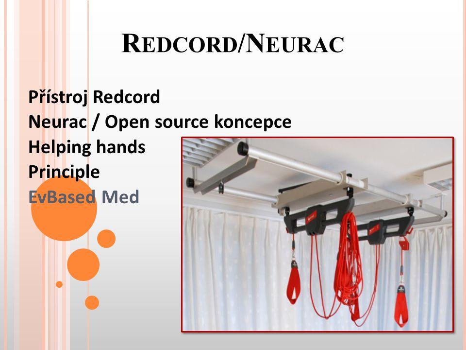 Redcord/Neurac Přístroj Redcord Neurac / Open source koncepce