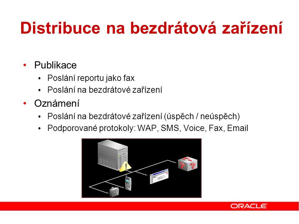 Distribuce na bezdrátová zařízení