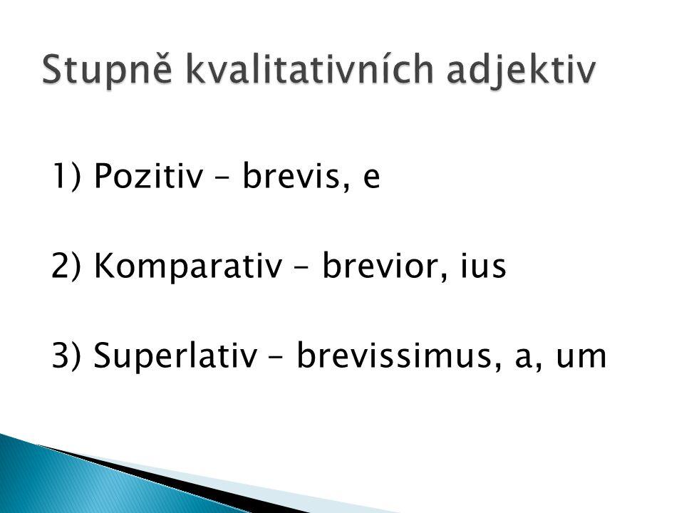 Stupně kvalitativních adjektiv