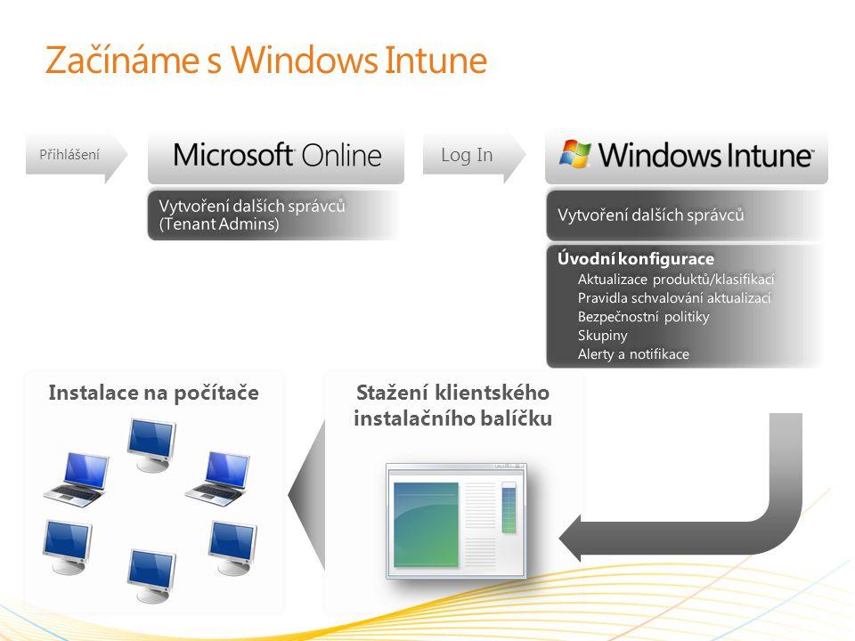 Začínáme s Windows Intune