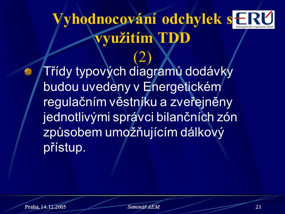 Vyhodnocování odchylek s využitím TDD (2)