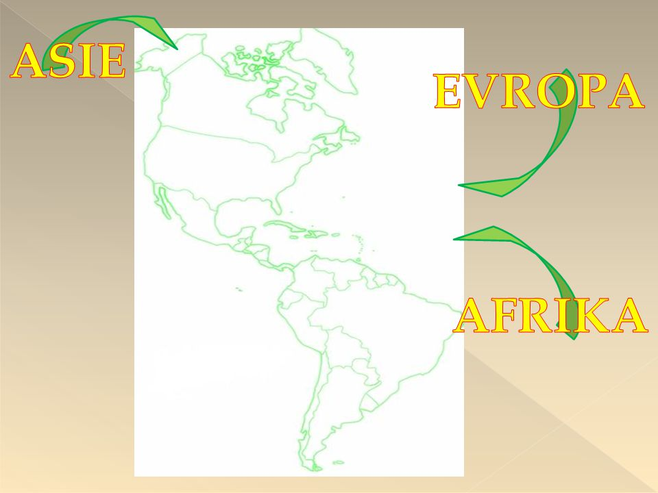 ASIE EVROPA AFRIKA