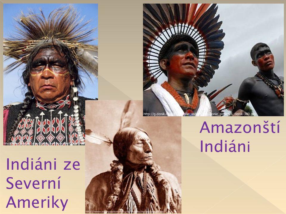 Amazonští Indiáni Indiáni ze Severní Ameriky