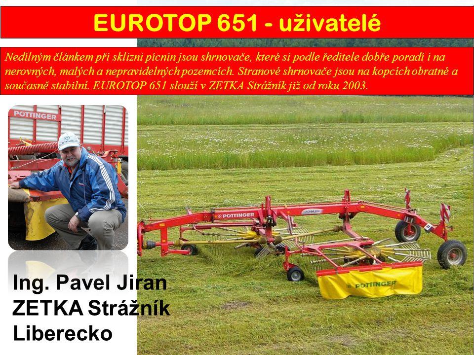 EUROTOP 651 - uživatelé Ing. Pavel Jiran ZETKA Strážník Liberecko