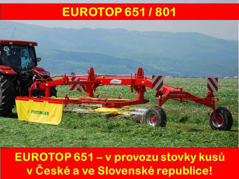 EUROTOP 651 – v provozu stovky kusů v České a ve Slovenské republice!