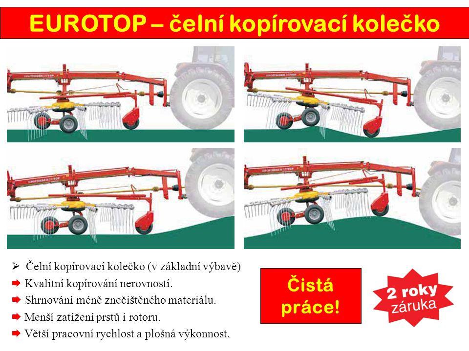 EUROTOP – čelní kopírovací kolečko