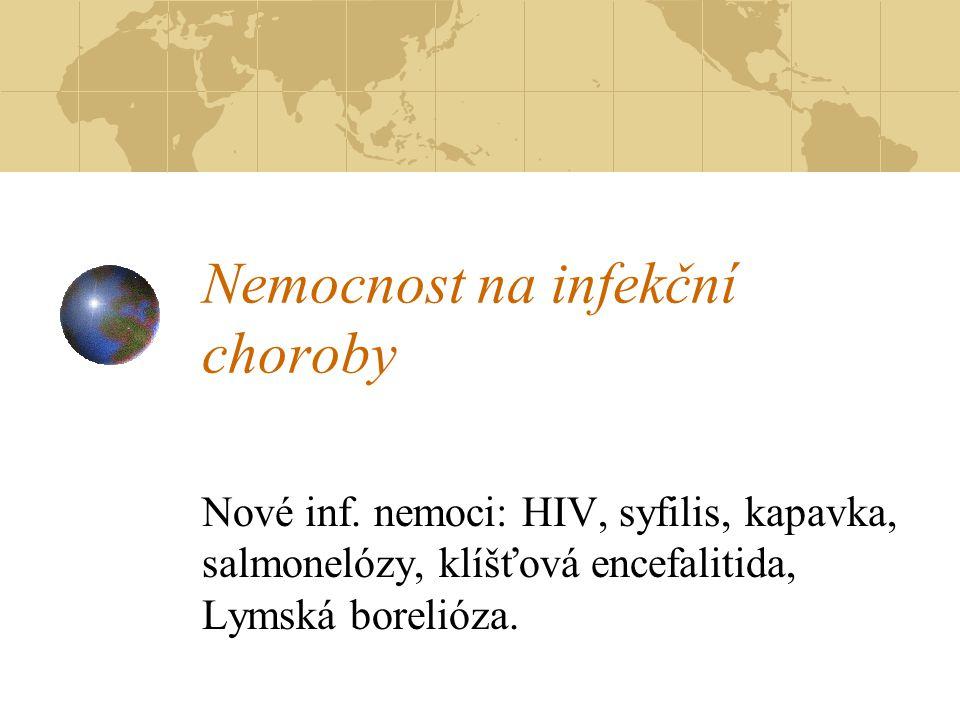 Nemocnost na infekční choroby