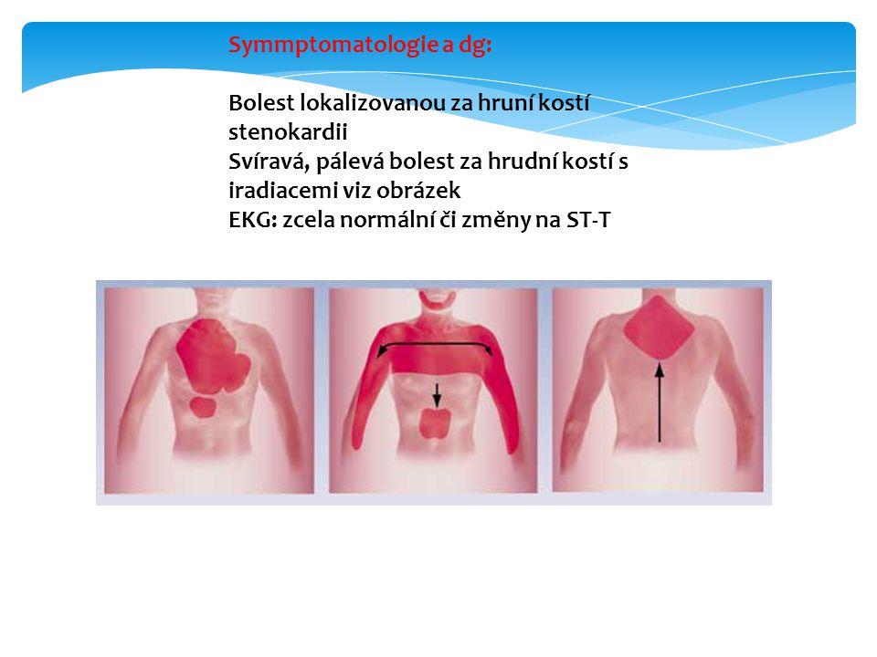 Symmptomatologie a dg:
