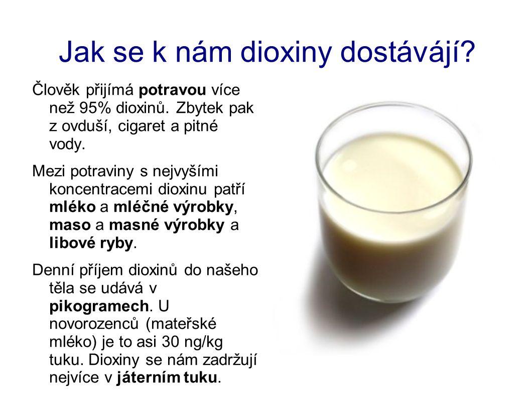 Jak se k nám dioxiny dostávájí