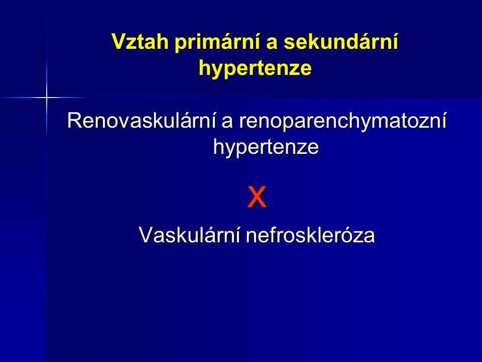 Vztah primární a sekundární hypertenze