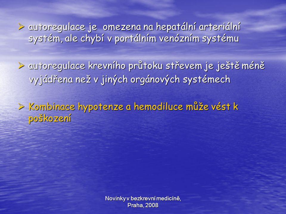 Novinky v bezkrevní medicíně, Praha, 2008