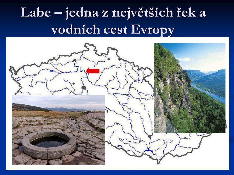 Labe – jedna z největších řek a vodních cest Evropy