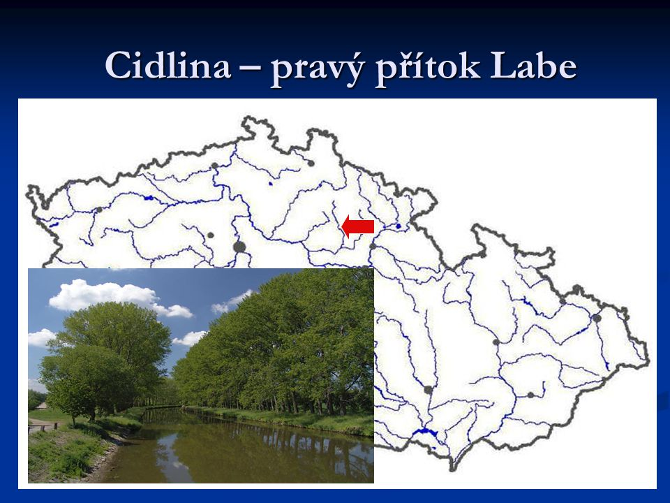 Cidlina – pravý přítok Labe