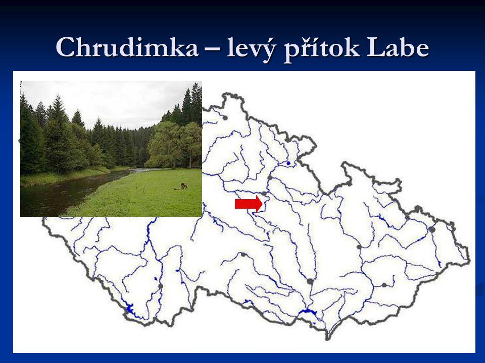 Chrudimka – levý přítok Labe