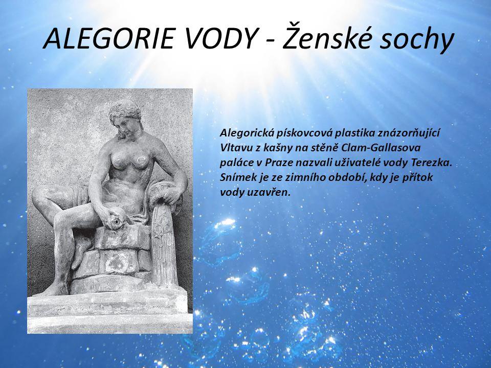 ALEGORIE VODY - Ženské sochy