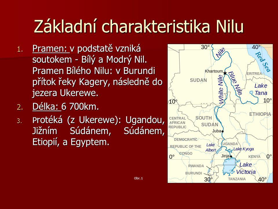 Základní charakteristika Nilu