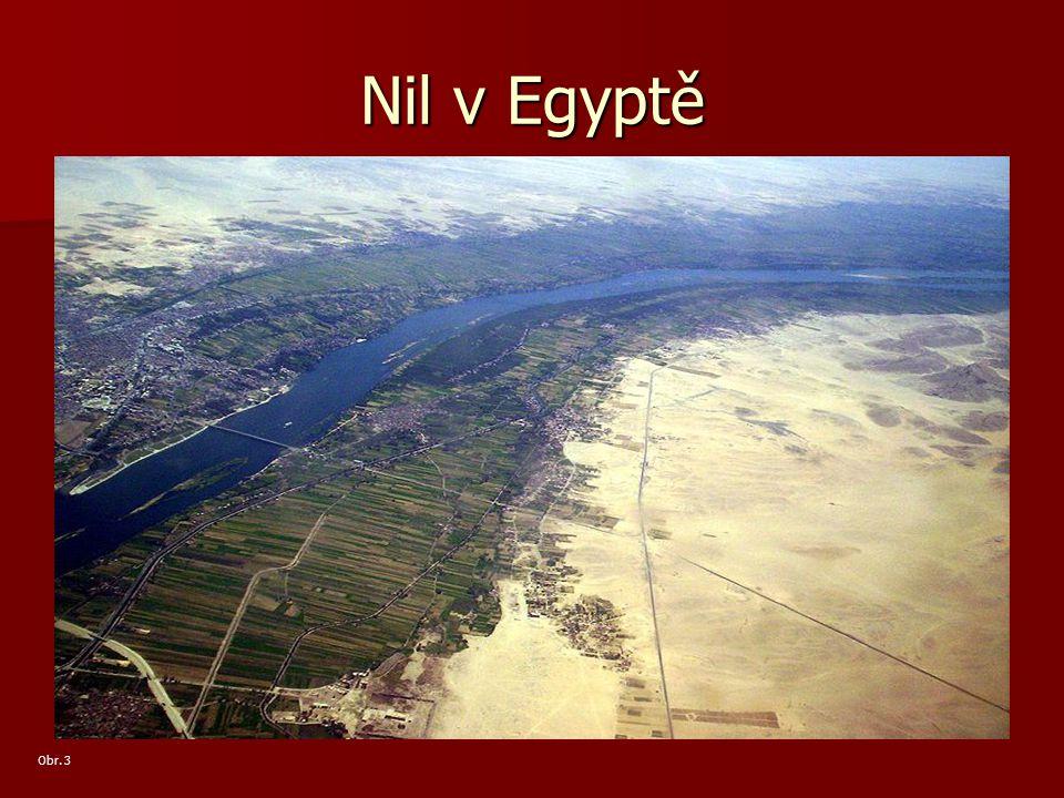 Nil v Egyptě Obr. 3