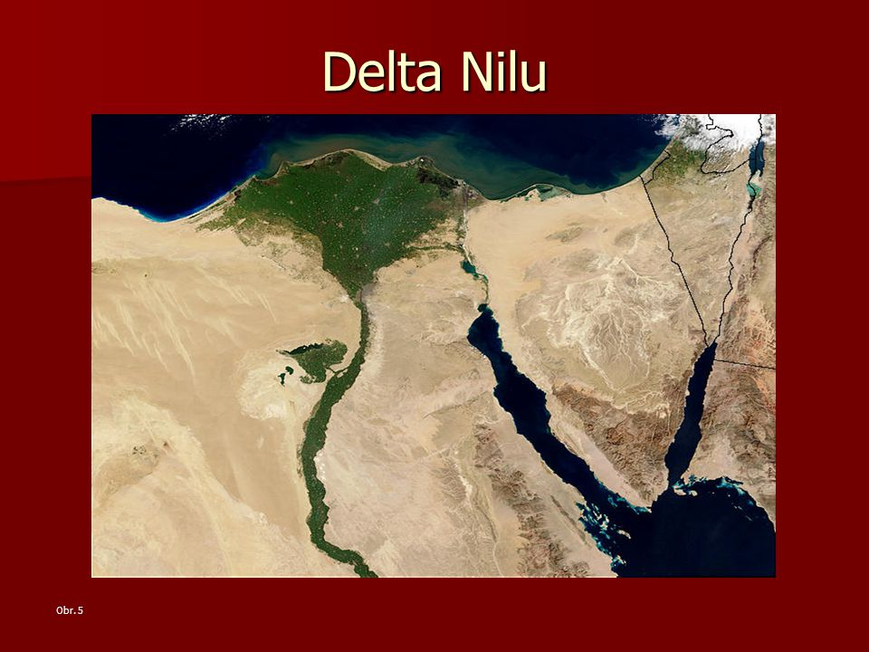 Delta Nilu Obr. 5