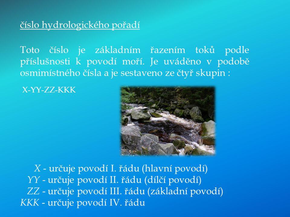 číslo hydrologického pořadí