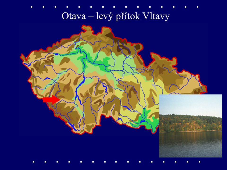 Otava – levý přítok Vltavy