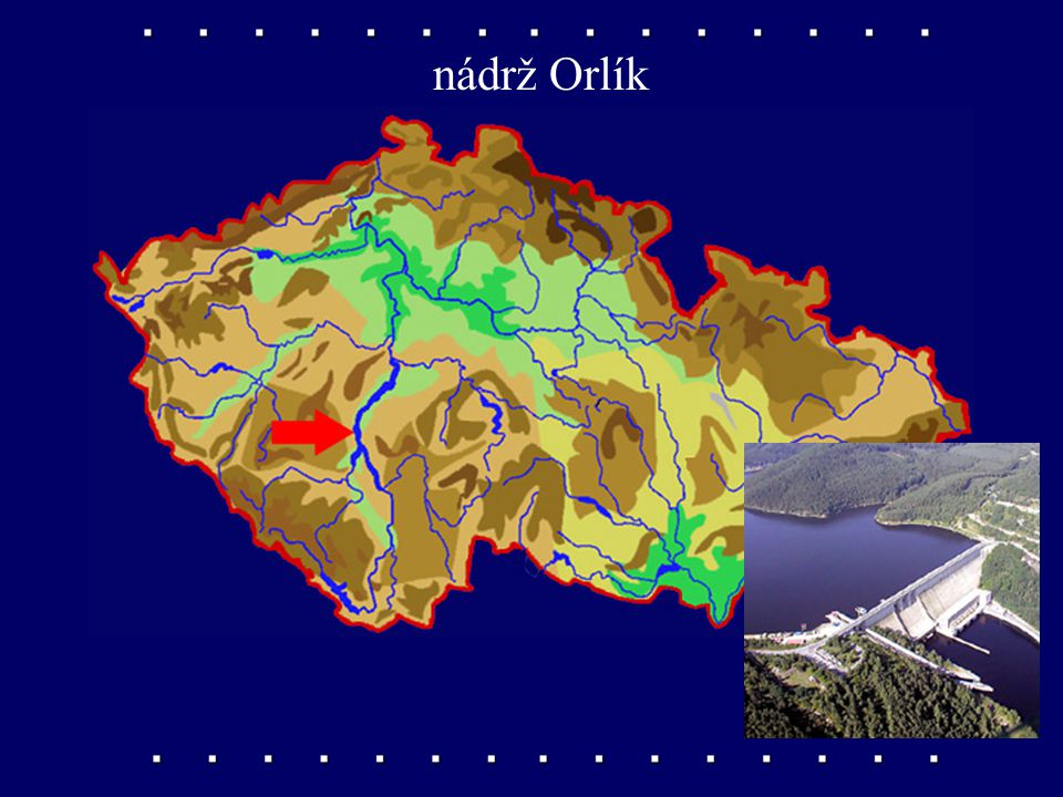 nádrž Orlík