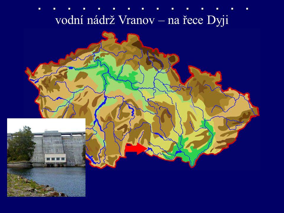 vodní nádrž Vranov – na řece Dyji