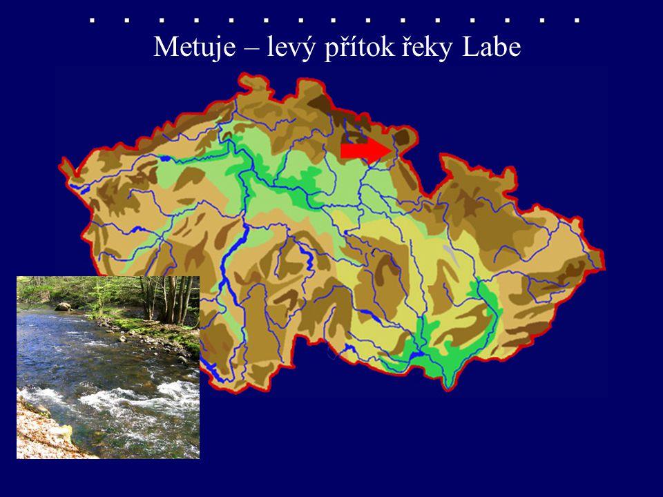 Metuje – levý přítok řeky Labe