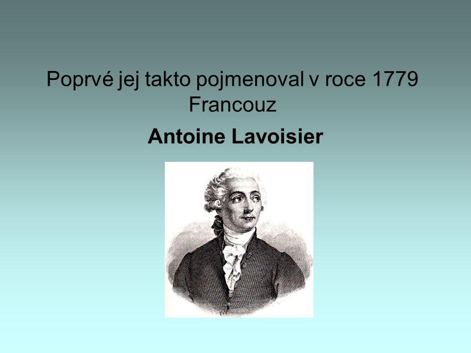 Poprvé jej takto pojmenoval v roce 1779 Francouz