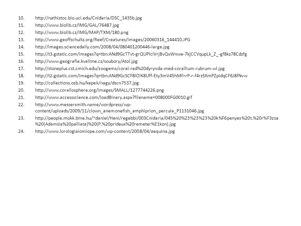 http://nathistoc.bio.uci.edu/Cnidaria/DSC_1435b.jpg http://www.biolib.cz/IMG/GAL/76487.jpg. http://www.biolib.cz/IMG/MAP/TXM/180.png.
