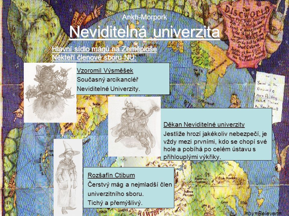 Ankh-Morpork Neviditelná univerzita