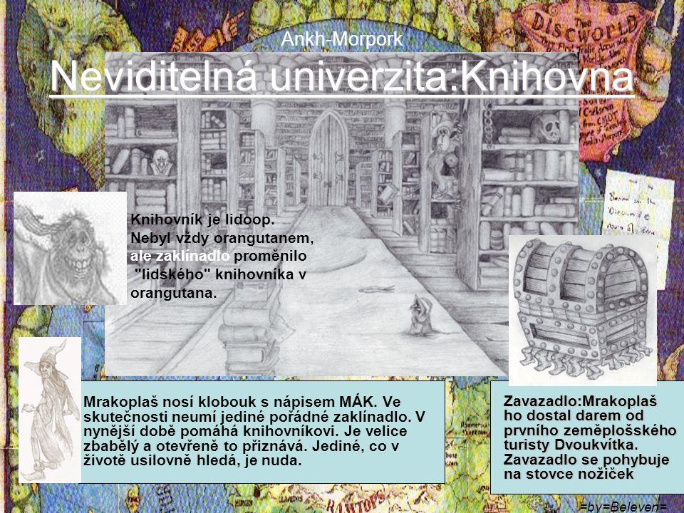 Ankh-Morpork Neviditelná univerzita:Knihovna