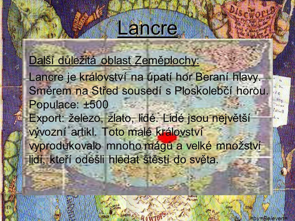Lancre Další důležitá oblast Zeměplochy: