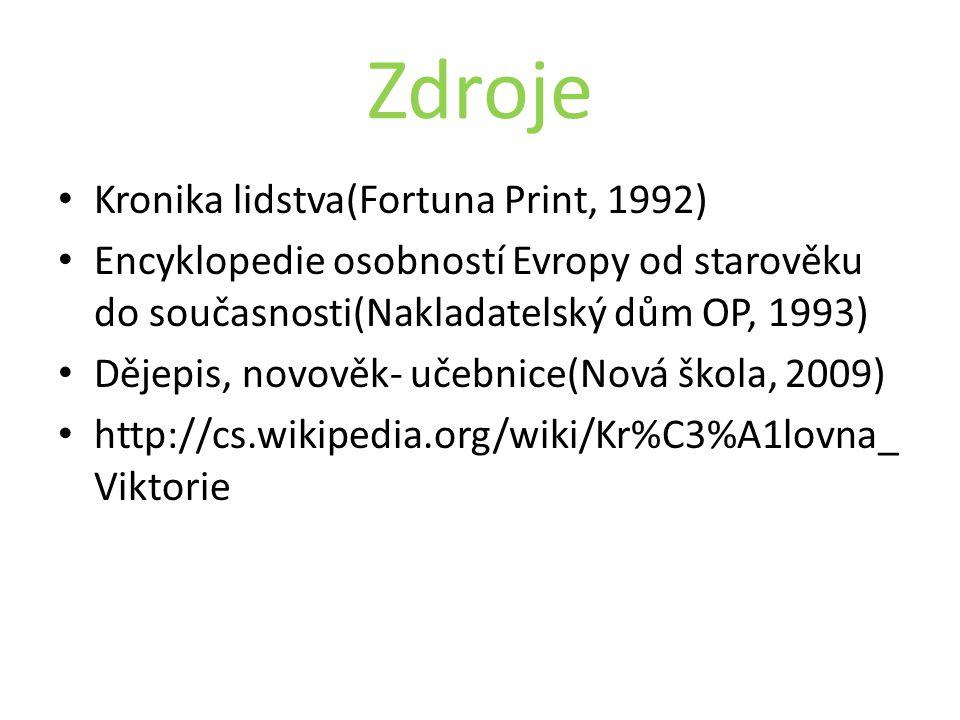 Zdroje Kronika lidstva(Fortuna Print, 1992)